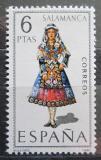 Poštovní známka Španělsko 1970 Lidový kroj Salamanca Mi# 1859