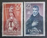 Poštovní známky Španělsko 1970 Osobnosti Mi# 1846-47 Kat 8€