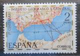 Poštovní známka Španělsko 1970 Institut kartografie, 100. výročí Mi# 1894