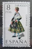 Poštovní známka Španělsko 1971 Lidový kroj Zaragoza Mi# 1927