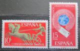 Poštovní známky Španělsko 1971 Spěšné Mi# 1936-37