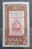 Poštovní známka Španělsko 1972 Mezinárodní rok knihy Mi# 1971