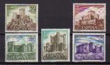 Poštovní známky Španělsko 1972 Hrady Mi# 1988-92 Kat 7.50€