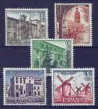 Poštovní známky Španělsko 1973 Pamětihodnosti Mi# 2023-27