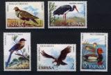Poštovní známky Španělsko 1973 Ptáci Mi# 2029-33