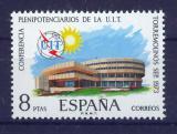 Poštovní známka Španělsko 1973 Konferenční budova ITU Mi# 2040