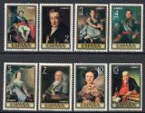 Poštovní známky Španělsko 1973 Umění, Vicente López Portaňa Mi# 2041-48
