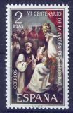 Poštovní známka Španělsko 1973 Vánoce, umění Mi# 2053
