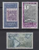 Poštovní známky Španělsko 1973 Knihtisk ve Španělsku, 500. výročí Mi# 2059-61
