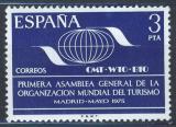 Poštovní známka Španělsko 1975 Světová turistická organizace Mi# 2154