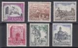 Poštovní známky Španělsko 1975 Pamětihodnosti Mi# 2158-63