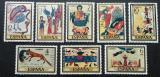 Poštovní známky Španělsko 1975 Miniatury Mi# 2177-84