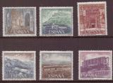 Poštovní známky Španělsko 1976 Pamětihodnosti Mi# 2227-32 Kat 5.50€