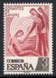 Poštovní známka Španělsko 1976 Dárcovství krve Mi# 2248