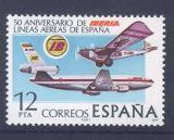 Poštovní známka Španělsko 1977 Letadla Mi# 2340