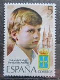 Poštovní známka Španělsko 1977 Korunní princ Filip Mi# 2341
