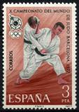 Poštovní známka Španělsko 1977 MS v judu Mi# 2342