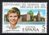 Poštovní známka Španělsko 1979 Nemocnice v Madridu Mi# 2440