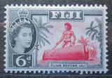 Poštovní známka Fidži 1961 Bubeník Mi# 146