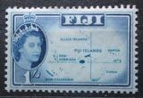 Poštovní známka Fidži 1963 Mapa ostrovů Mi# 149