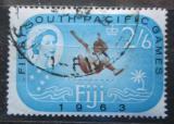 Poštovní známka Fidži 1963 Jihopacifické hry Mi# 173