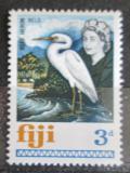 Poštovní známka Fidži 1968 Demigretta sacra Mi# 215