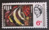Poštovní známka Fidži 1968 Heniochus acuminatus Mi# 217