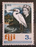 Poštovní známka Fidži 1969 Demigretta sacra Mi# 234