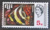 Poštovní známka Fidži 1969 Heniochus acuminatus Mi# 236