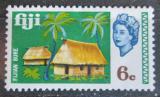Poštovní známka Fidži 1969 Vesnice Mi# 237