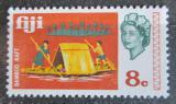 Poštovní známka Fidži 1969 Vor z bambusu Mi# 238