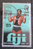 Poštovní známka Fidži 1971 Vzpírání Mi# 294