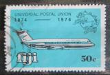 Poštovní známka Fidži 1974 Poštovní letadlo Mi# 323