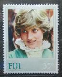 Poštovní známka Fidži 1982 Princezna Diana Mi# 465