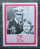 Poštovní známka Fidži 1986 Královna Alžběta II. Mi# 538