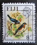 Poštovní známka Fidži 1976 Muchálek modrochocholatý Mi# 336
