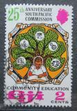 Poštovní známka Fidži 1972 Jihopacifická komise, 25. výročí Mi# 295