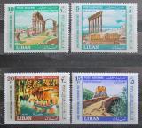 Poštovní známky Libanon 1967 Turistické zajímavosti Mi# 992-95