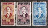 Poštovní známky Libanon 1961 Prezident Fuad Chehab Mi# 701-03