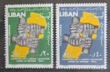 Poštovní známky Libanon 1964 Kongres Libanonců ze zahraničí Mi# 876-77