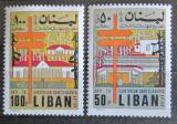 Poštovní známky Libanon 1971 Boj proti tuberkulóze Mi# 1132-33