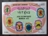 Poštovní známky Libanon 1974 LOH Mnichov TOP Mi# Block 41