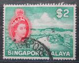 Poštovní známka Singapur 1955 Singapur Mi# 41 Kat 4€