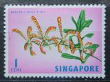 Poštovní známka Singapur 1963 Arachnis Maggi Oei Mi# 53