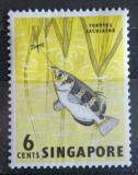 Poštovní známka Singapur 1962 Stříkoun lapavý Mi# 57