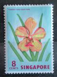 Poštovní známka Singapur 1962 Flóra Mi# 58
