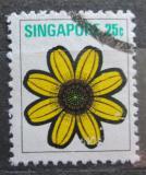 Poštovní známka Singapur 1973 Wedelia trilobata Mi# 197