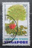 Poštovní známka Singapur 1976 Lagerstroemia flos-reginae Mi# 248