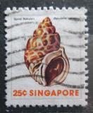 Poštovní známka Singapur 1977 Babylonia spirata Mi# 271