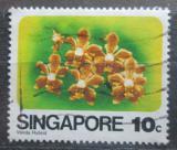 Poštovní známka Singapur 1979 Orchidej Mi# 325